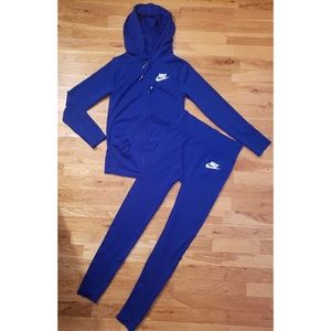 Nike (Dri)Fit Big Kids Girls Jacket & Tights Lrg